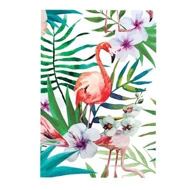 Deffter Lovely Spr Flamingo Flowers Renkli